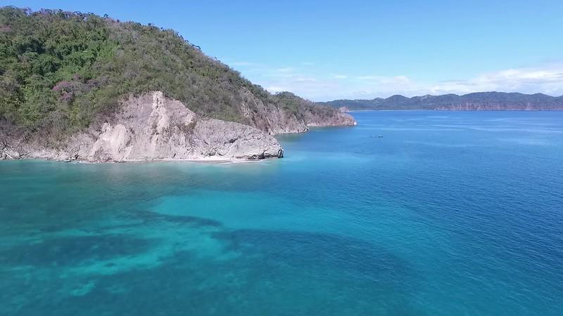 Idyllic tropical Beach Paradise Island, Tortuga Island, Gulf of Nicoya, Costa Rica