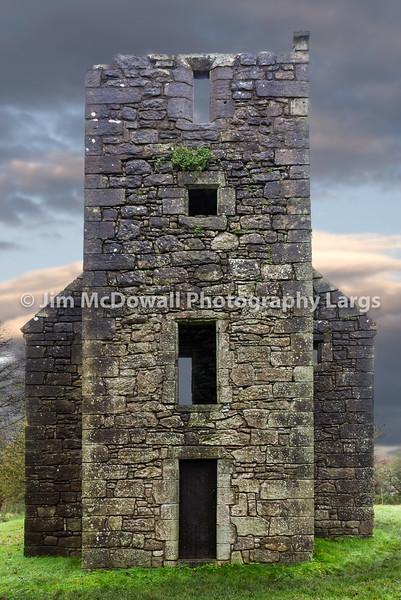 Castle Semple Ancient Church Scotland.