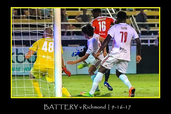 BATTERY v Richmond | 9-16-17