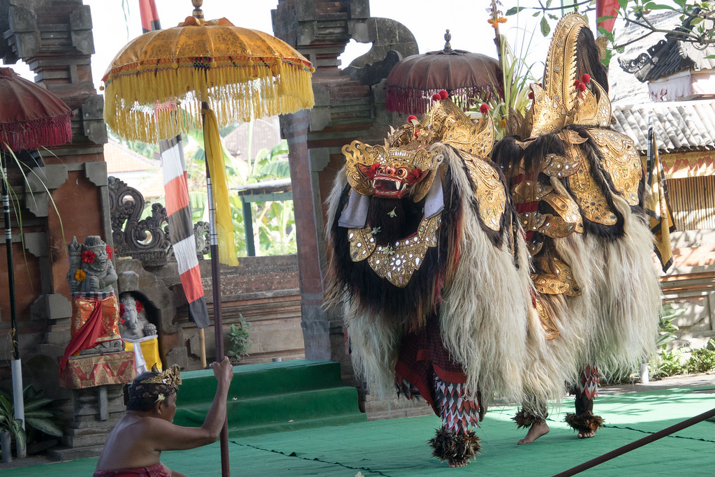 Barong, the king of good spirits