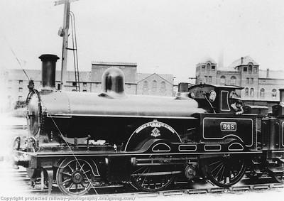 Webb Assorted tender engines