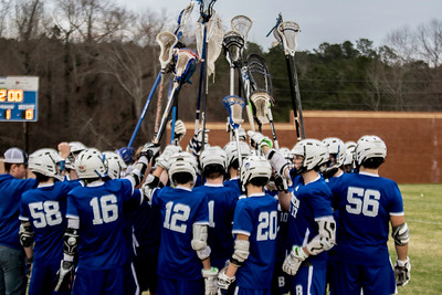 2019 Varsity Boys Lacrosse vs East Paulding Jason Houston
