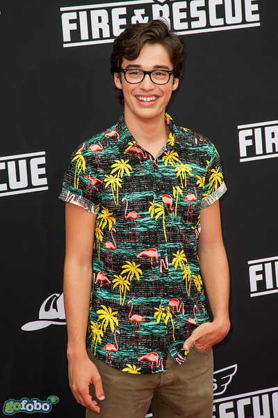 HOLLYWOOD, CA - JULY 15: Actor Joey Bragg attends the premiere of Disney's 'Planes: Fire & Rescue' at the El Capitan Theatre on Tuesday July 15, 2014 in Hollywood, California. (Photo by Tom Sorensen/Moovieboy Pictures)