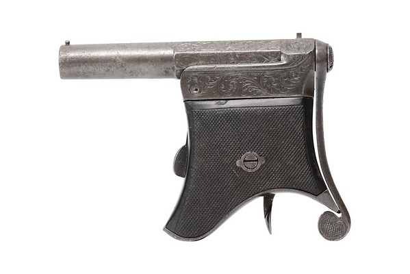 Delvigne Breech Loading Pinfire Derringer