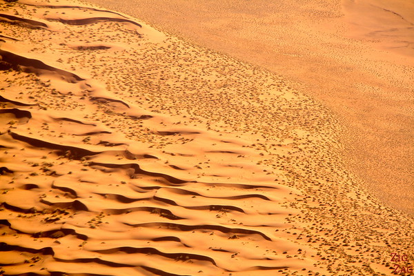 Flying over Sossusvlei sand dunes, Namibia photo 7