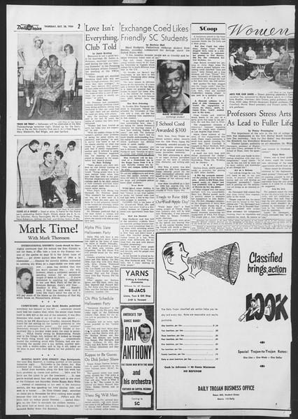Daily Trojan, Vol. 46, No. 30, October 28, 1954