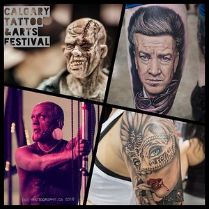 Calgary Tattoo and Arts Festival October 16 2016