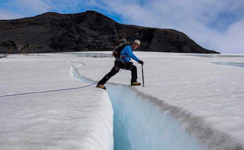 Geitlandsjökull og Prestahnjúkur