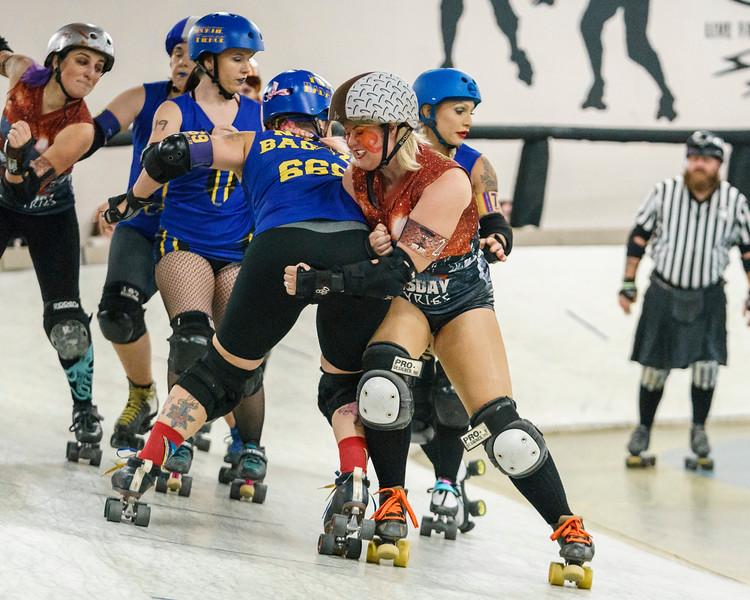 12/01/2018 AZDD Scrappers vs Valkyries ©Keith Bielat