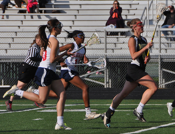 Albemarle girls lacrosse drops Monticello 2013