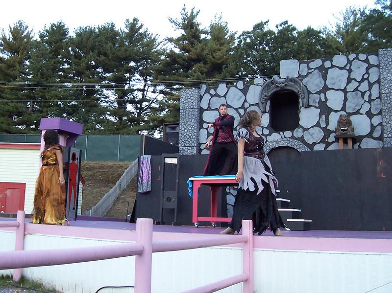 Jason Pipitone's stage magic show.