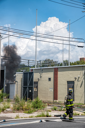 New Haven Electrical Substation fire
