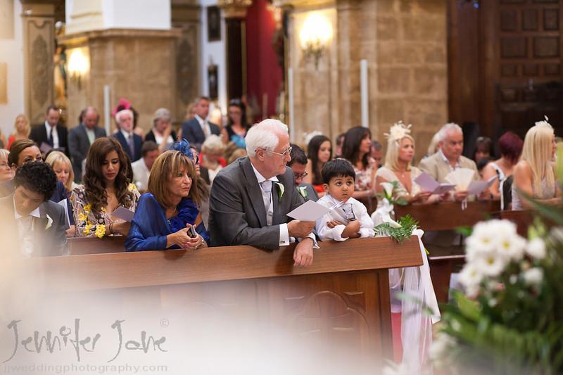 Weddings in the senora de la encarnacion church, old town marbella wedding photography - ©jjweddingPhotography.com