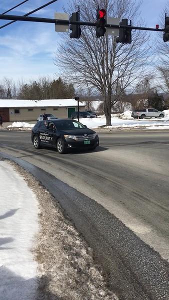 Motorcade Video on corner.MOV