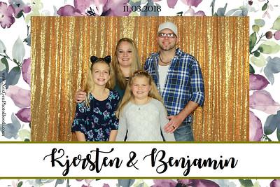 Kjersten & Ben's Wedding 11/3/18