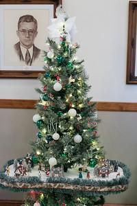 Leominster City Hall Christmas trees 112320