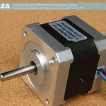 SKU: AE-MOTOR/42B, 2100B03/42HS40 Stepper Motor for TruCUT-Lite Desktop Laser X-Axis Motor, 4 Leads
