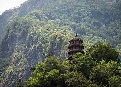 The Taroko mountains of Taiwan