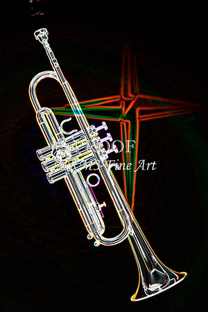 Early Trumpet Fine Art Drawing Prints
