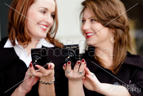 Ashley and Crystal- Mary Kay