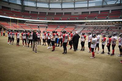 2014 Junior Boys Football at BC Place