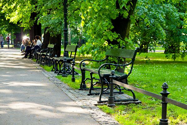 Planty Park, Kraków. Photo credit: Pawel Pacholec