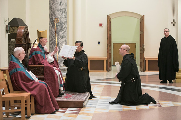 Br. Stanley Wagner - First Profession 2018