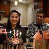 2018-01-22 Elise 17th Birthday V(31) Cake Caleb