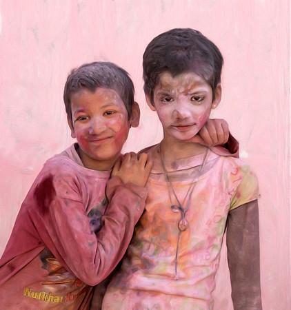 Holi and Hola Mohalla Faces
