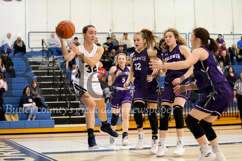 Butler vs Baldwin Girls Basketball