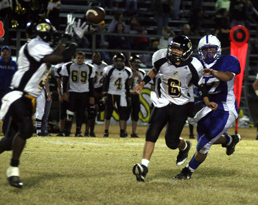 LOUISIANA HIGH SCHOOL FOOTBALL 2008: St. Edmund of Eunice vs. Kinder High school @ St. Edmund. St. Edmund's Bluejays win!