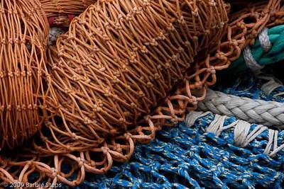 Oregon - Ships, Buoys, and Nets