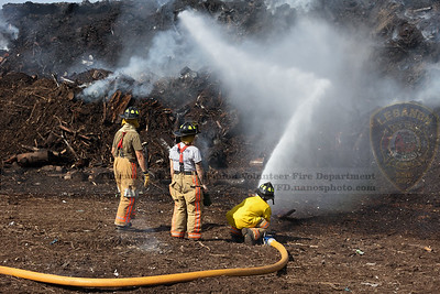 2021-08-15 - LVFD Mulch Fire Response