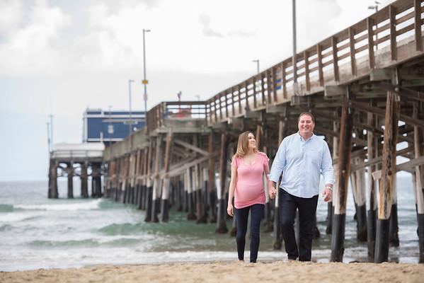 Larissa & Michael: Newport Beach Maternity Session