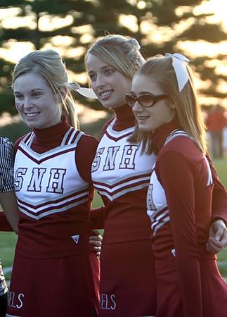 SN HS Cheerleading vs Caston 07-08