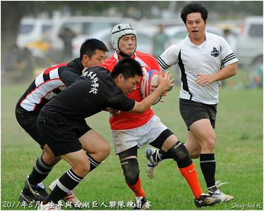 2011年陸軍專校與西湖巨人聯隊練習賽(AAROC vs Sihu OB&Giant)