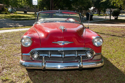 Antique 1953 Chevy Bel Air Convertible