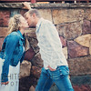 This image was captured during an engagement photo shoot just below the Covered Bridge in Vail Village, Colorado.