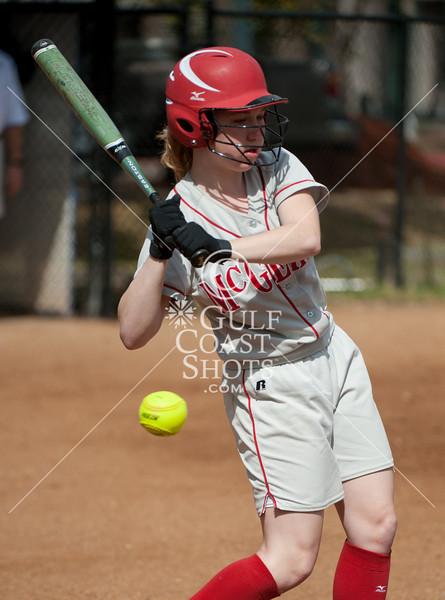 2011-03-12 Softball Varsity Girls McGehee @ Episcopal