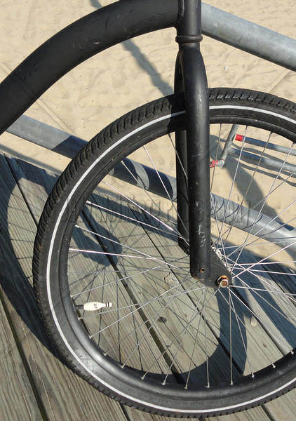 Black Bike Bowling Cap