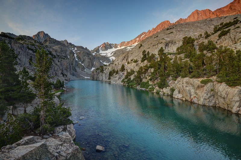 (2018 July 8-9) South Fork of Big Pine to the Base of Middle Palisade