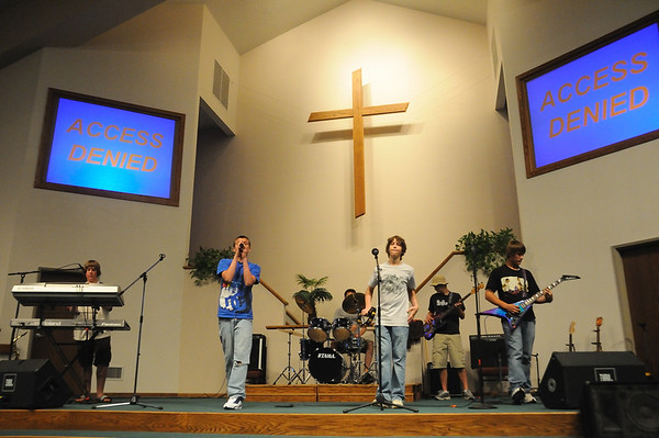 """Battle of the Bands - """"Access Denied"""" Band - 5/2/09"""
