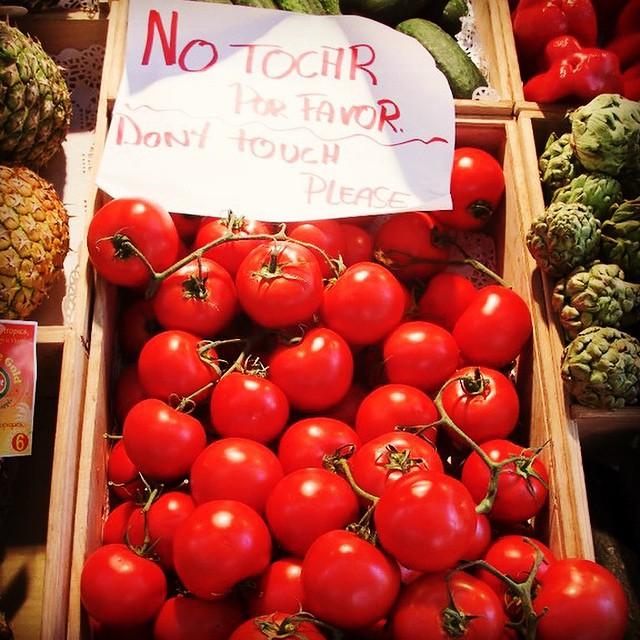 tomatoes madrid mercado del san miguel