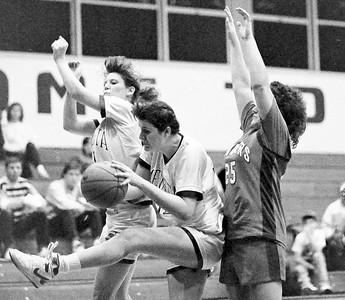 Girls Basketball December 1989
