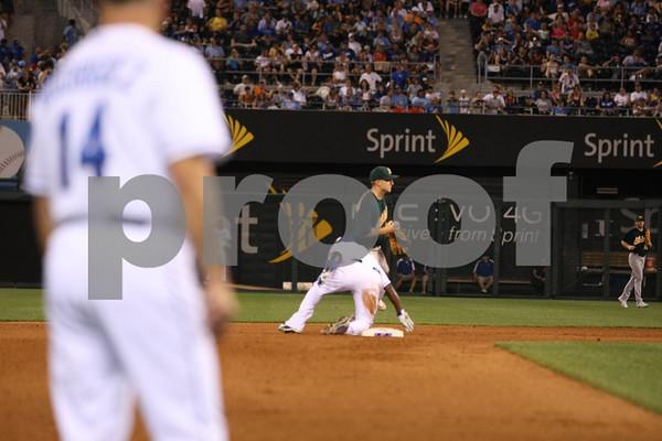 MLB-Kansas City Royals vs Oakland Athletics 7-16-10 Camera 2 of 2