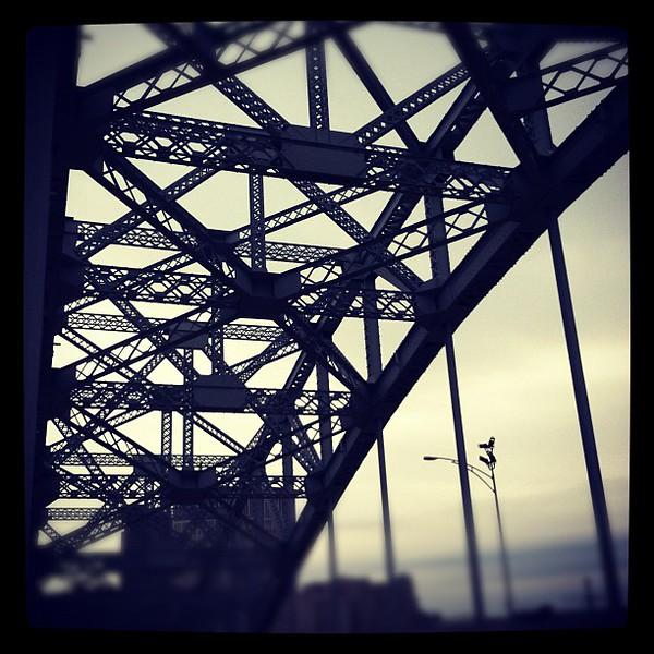 "12/2/11<br /> <br /> Veterans Memorial Bridge, Cleveland.<br /> <br /> another photo of the bridge: <a href=""http://smu.gs/tII7jv"">http://smu.gs/tII7jv</a>"