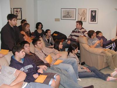 GOYA Fireside Chat - January 13, 2008