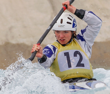 K1 Womens - GB Selection Trials 2013 - 2nd Run - Sun - Lee Valley