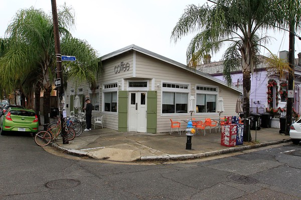 BYWATER- ORANGE COUCH COFFEE SHOP