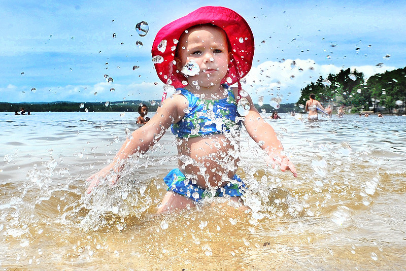 Summer fun at Crescent Beach in Auburn